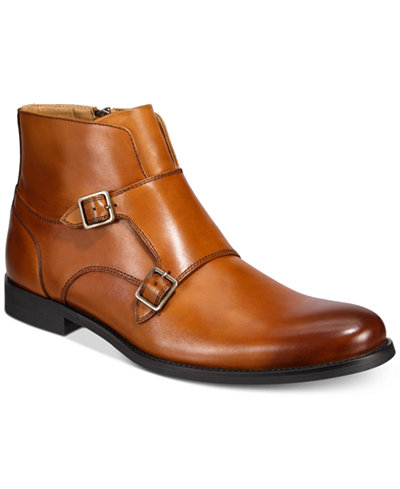 Bar Iii Men S Harry Double Monk Strap Boot Created For Macy