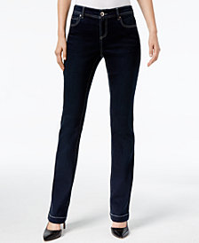 I.N.C. Curvy-Fit 5-Pocket Bootcut Jeans, Created for Macy's