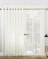 "Lichtenberg No. 918 100"" x 84"" Extra-Wide Sheer Voile Grommet Patio Curtain Panel"