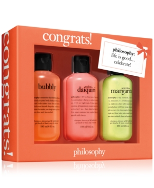 philosophy 3-Pc. Congrats! Gift Set