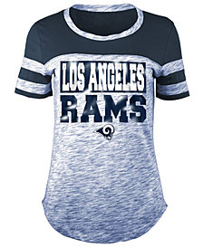 5th & Ocean Women's Los Angeles Rams Space Dye Foil T-Shirt