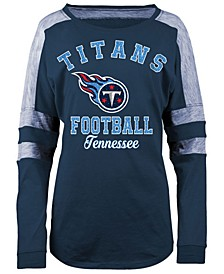 Women's Tennessee Titans Space Dye Long Sleeve T-Shirt