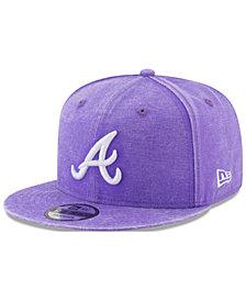 New Era Atlanta Braves Neon Time 9FIFTY Snapback Cap