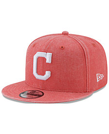 New Era Cleveland Indians Neon Time 9FIFTY Snapback Cap