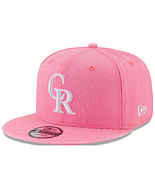 New Era Colorado Rockies Neon Time 9FIFTY Snapback Cap