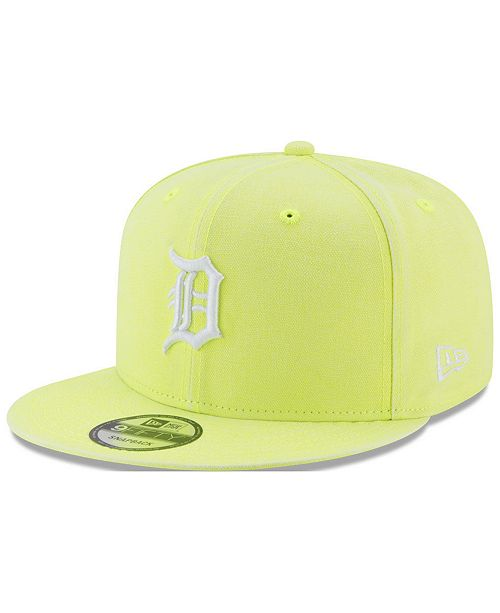 quality design 5ed3e 65814 ... New Era Detroit Tigers Neon Time 9FIFTY Snapback Cap ...