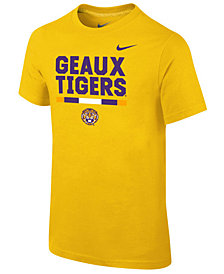 Nike LSU Tigers Local Verbiage T-Shirt, Big Boys (8-20)