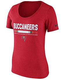 Nike Women's Tampa Bay Buccaneers Cotton Team Scoop T-Shirt