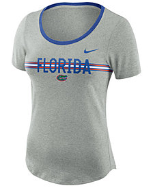 Nike Women's Florida Gators Tri Blend Slub T-Shirt