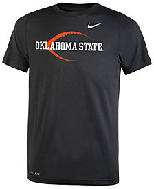 Nike Oklahoma State Cowboys Legend Icon Football T-Shirt, Big Boys (8-20)