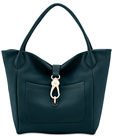 Dooney & Bourke Belvedere Logo Lock Small Tote