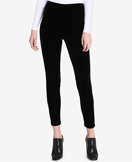 255f6e37ebf Calvin Klein Velvet Leggings   Reviews - Pants   Capris - Women - Macy s