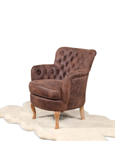 Celine Tufted Armchair, Quick Ship