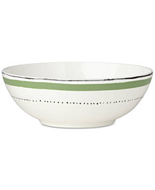 kate spade new york Union Square Green Soup/Cereal Bowl