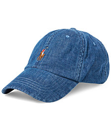 Polo Ralph Lauren Men's Denim Sports Cap