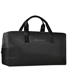 Receive a Complimentary Duffel Bag with any large spray purchase from the John Varvatos Men's fragrance collection