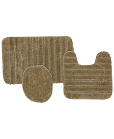 Mohawk 3-Pc. Nylon Bath Rug Set