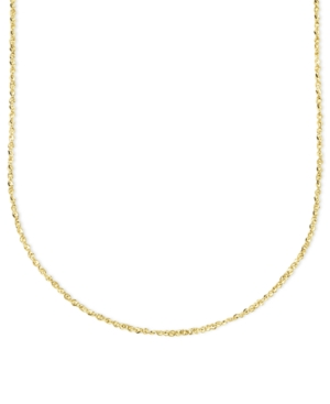 "14k Gold Necklace, 20"" Perfectina Chain"