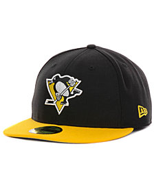 New Era Pittsburgh Penguins Basic 59FIFTY Fitted Cap