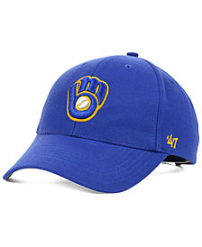'47 Brand Milwaukee Brewers MLB On Field Replica MVP Cap