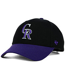 '47 Brand Colorado Rockies MVP Curved Cap