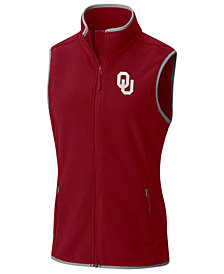Columbia Women's Oklahoma Sooners Fuller Ridge Fleece Vest