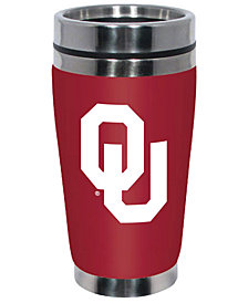 Hunter Manufacturing Oklahoma Sooners 16oz Stainless Steel Travel Tumbler