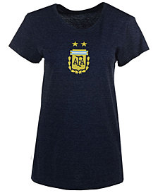 adidas Women's Argentina National Team Crest T-Shirt