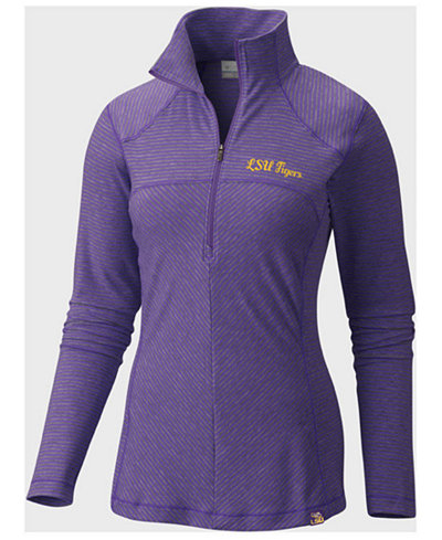 Columbia Women's LSU Tigers Layer First Quarter-Zip Pullover