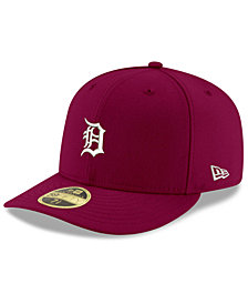 New Era Detroit Tigers Low Profile C-DUB 59FIFTY Fitted Cap