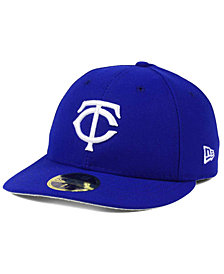New Era Minnesota Twins Low Profile C-DUB 59FIFTY Fitted Cap
