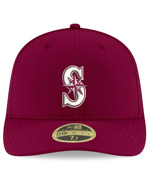 premium selection 13988 60f16 New Era. Seattle Mariners Low Profile C-DUB 59FIFTY Fitted Cap. Be the  first to Write a Review. main image  main image  main image ...