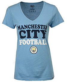 '47 Brand Women's Manchester City Club Team Wordmark T-Shirt
