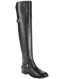 Bar III Daphne Over-The-Knee Riding Boots, Created for Macy's