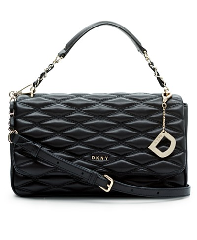 DKNY Lara Small Flap Shoulder Bag, Created for Macy's
