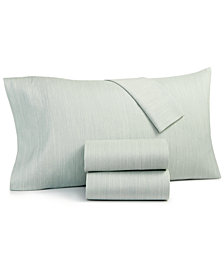 Hotel Collection Cotton 525-Thread Count 4-Pc. Yarn-Dyed Queen Sheet Set, Created for Macy's