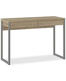 Mellan 2 Drawer Desk, Quick Ship