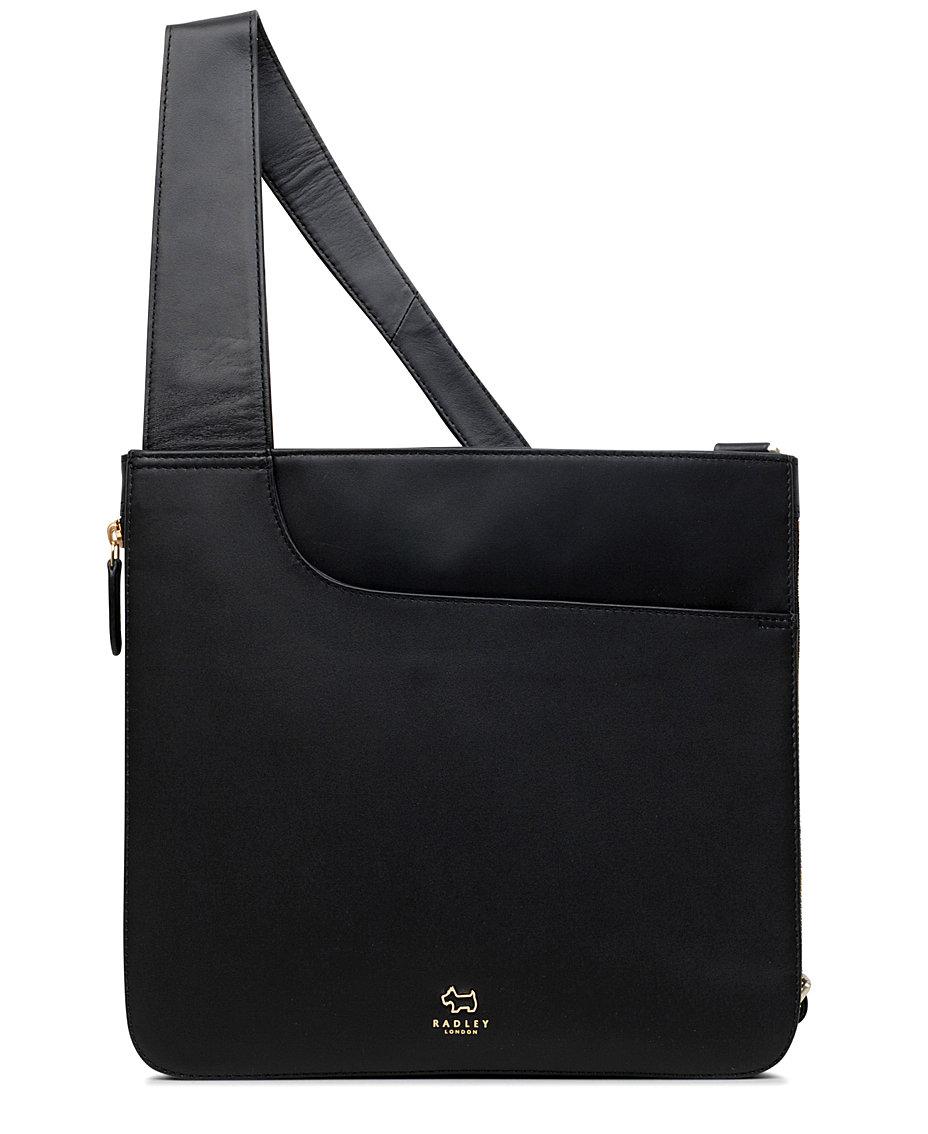 bd404ff48afb Radley London Pocket Bag Zip-Top Leather Crossbody   Reviews - Handbags    Accessories - Macy s