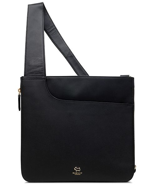 6ae66744cc Radley London Pocket Bag Zip-Top Leather Crossbody   Reviews ...