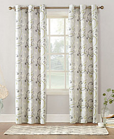 Sun Zero Sabina Thermal Lined Grommet Curtain Panel Collection