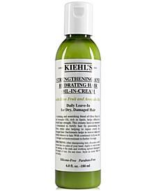 Strengthening & Hydrating Hair Oil-In-Cream, 6-oz.