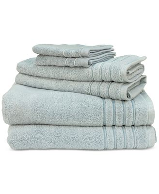 Lenox Platinum 6-Pc. Bath Towel Set