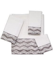 "Avanti Galaxy Chevron 16"" x 30"" Hand Towel"