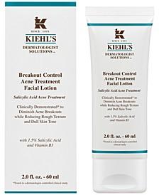 Dermatologist Solutions Breakout Control Acne Treatment Facial Lotion, 2-oz.