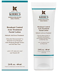 Kiehl's Since 1851 Dermatologist Solutions Breakout Control Acne Treatment Facial Lotion, 2-oz.