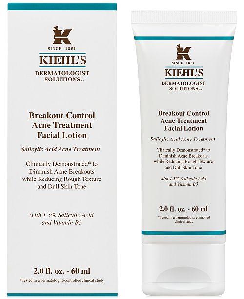 Kiehl's Since 1851 Dermatologist Solutions Breakout Control Acne Treatment Facial Lotion, 2-oz.