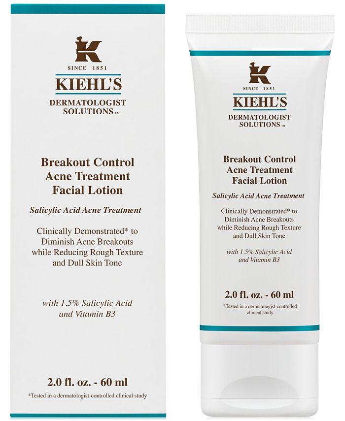 Kiehl's Since 1851 - Dermatologist Solutions Breakout Control Acne Treatment Facial Lotion, 2-oz.