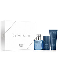 Calvin Klein 3-Pc. Eternity For Men Aqua Gift Set