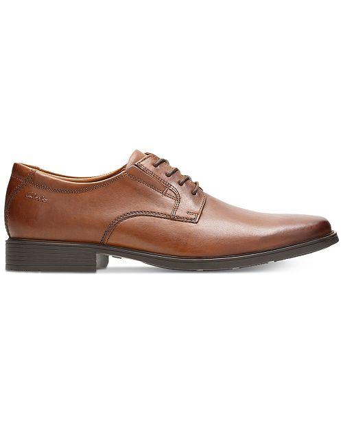 75139709f0087 Clarks Men's Tilden Plain-Toe Oxfords & Reviews - All Men's Shoes ...