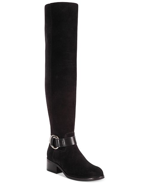 bcf94c1c8e6 Frye Women's Kristen Harness Over-The-Knee Boots & Reviews - Boots ...